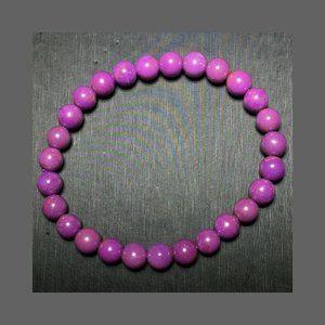 Jewelry - Phosphosiderite Gemstone Stretch Bracelet 7mm bead